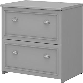 Bush Furniture Fairview 2 Drawer Lateral File Cabinet, Cape Cod Gray