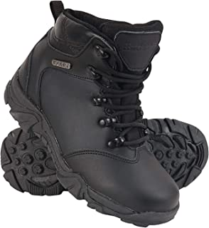 Waterproof Rain Boots Breathable Childrens Walking Shoes Vibram Outsole All Season Shoes Mountain Warehouse Canyon Kids Waterproof Boots for Running Leather Upper