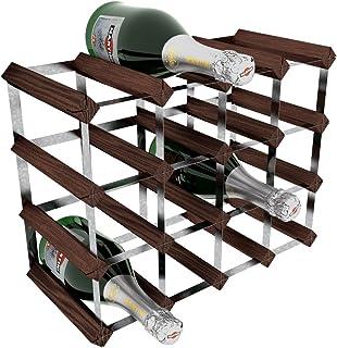 comprar comparacion Acero galvanizado RTA/16-térmica para Botella de Vino en Madera de Caoba de Pino para, marrón