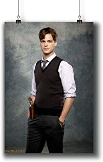 Criminal Minds TV Series Poster Small Prints 271-005 Spencer Reid,Wall Art Decor for Dorm Bedroom Living Room (A4|8x12inch|21x29cm)