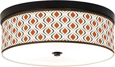 Amazon.com: Tile Illusion Giclee - Lámpara de techo (bajo ...