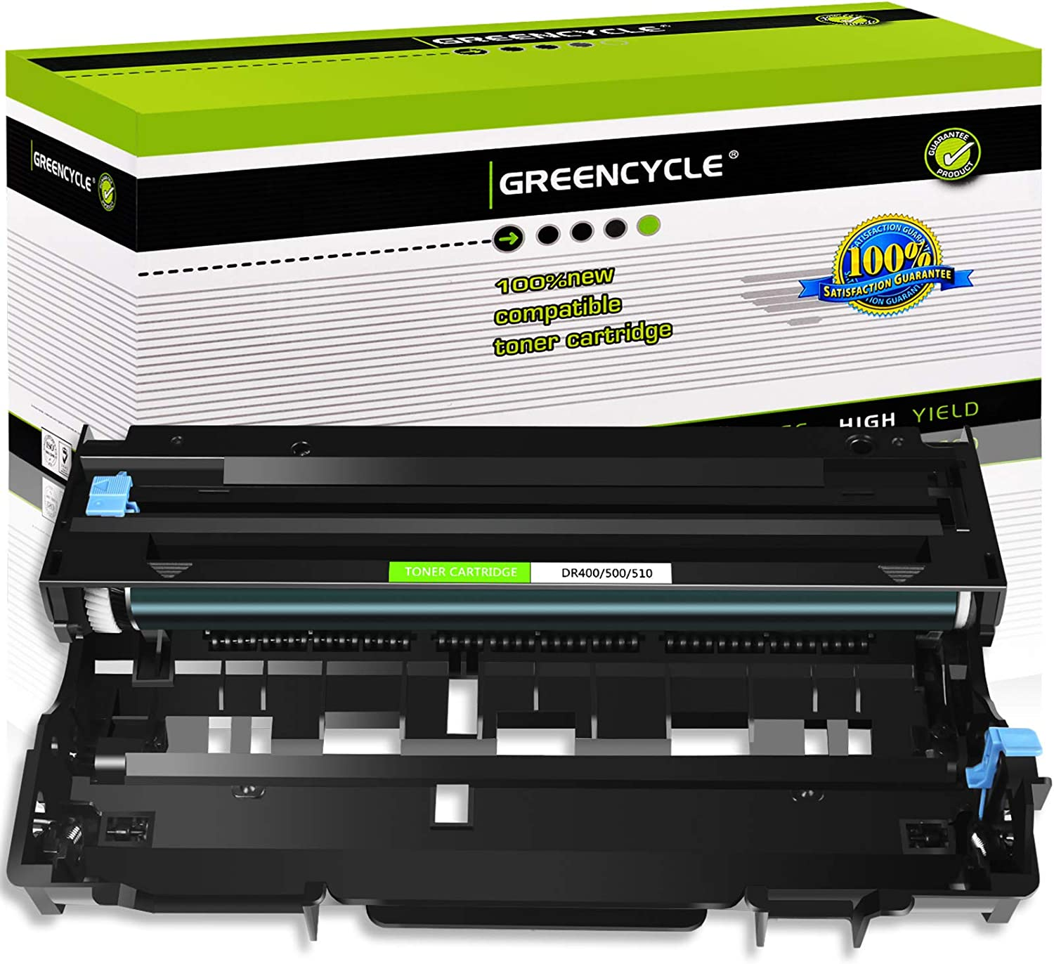 GREENCYCLE 1 Pack Compatible for Brother DR510 DR-510 Laserjet Drum Replacement Used in DCP-8040 DCP-8040D HL-5150DLT MFC-8440 MFC-8220 MFC-8840D Printer