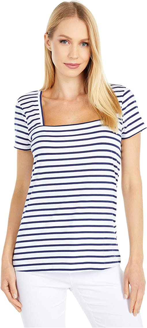 True Navy On The Horizon Stripe