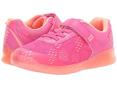 Stride Rite M2P Lighted Neo (Little Kid) (Pink) Girls Shoes
