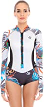 Platinum Sun 2mm Rash Guard Shorty Wetsuit Women