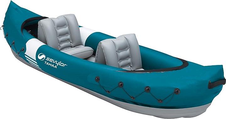 Canoa gonfiabile 2 posti kajak gonfiabile barca con esterno in pvc sevylor tahaa kajak 2000037318