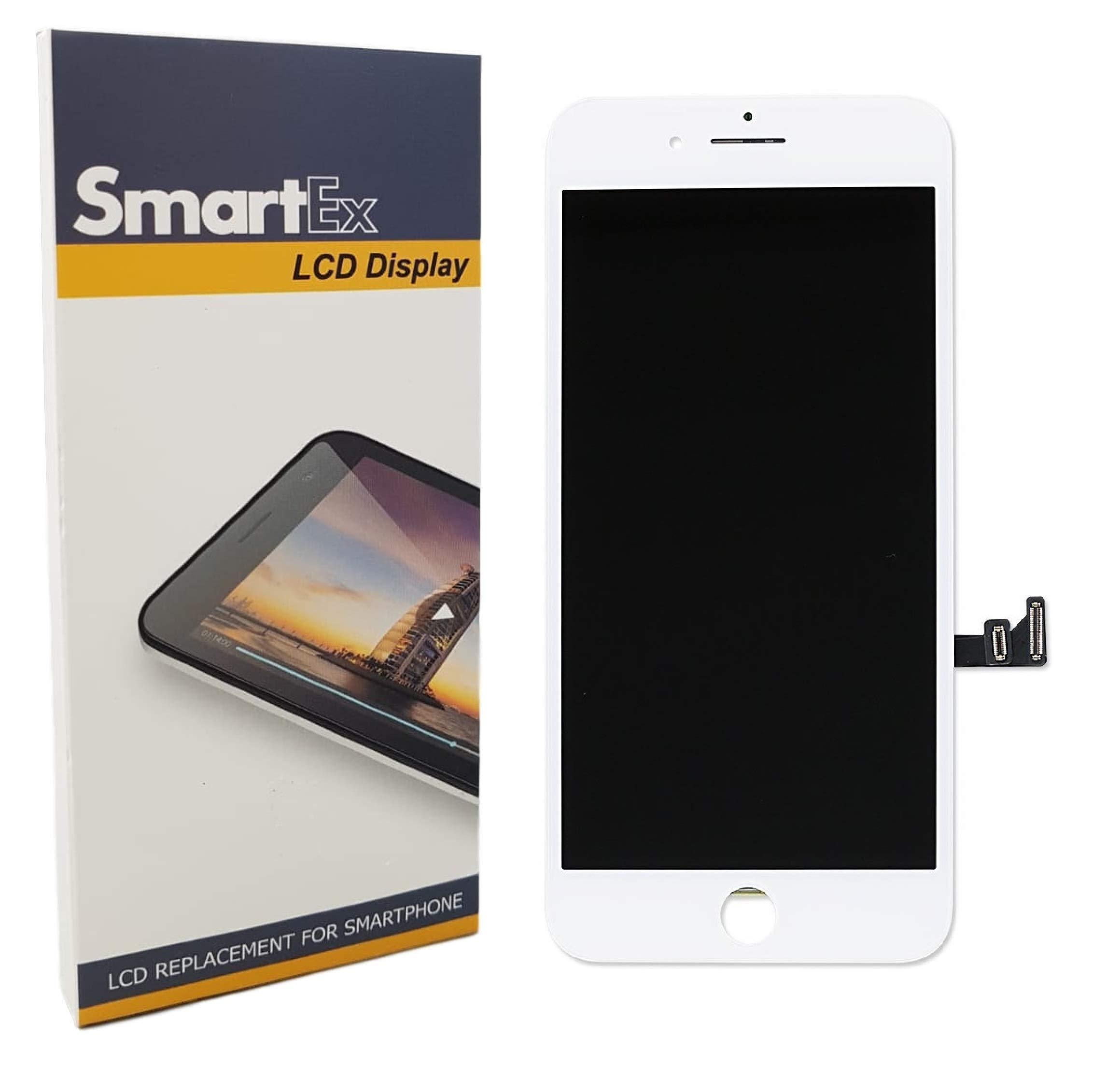 Smartex New Pantalla Blanco Compatible con iPhone 7 Plus/Display ...