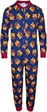 FC Barcelona Official Soccer Gift Boys Kids Pajama All-in-One
