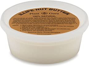 Illipe Nut Butter 8 oz 100% Pure Raw Natural Cold Pressed For Skin, Body, Face and Hair