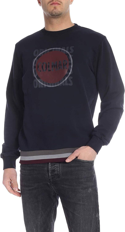 Colmar Originals Herren 8243T6TQ68 Blau Baumwolle Sweatshirt