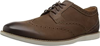 CLARKS Men's Raharto Wing Oxford
