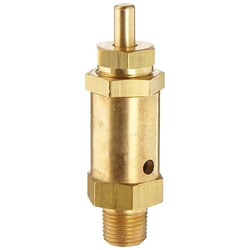 1//4 NPT Male 200 psi Set Pressure Kingston 112CSS Series Brass ASME-Code Safety Valve