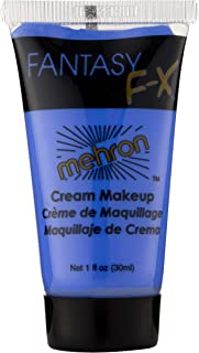 Mehron Makeup Fantasy F/X Water Based Face & Body Paint (1 Fl Oz) (BLUE)