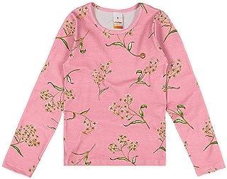 Blusa em meia malha stretch estampada, Marisol, Meninas