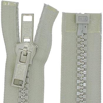 Reißverschluss YKK für Persenning Zelte 80 cm Breit 4 cm Spiralb.10 mm L58280
