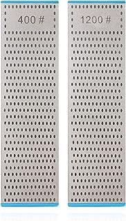 |DMD 研ぎ工房|両面ダイヤモンド砥石 | 面直し用砥石 | 包丁研ぎ 両用 中研ぎ/细研ぎ400/1200# | 砥石台适配 (400/1200#)