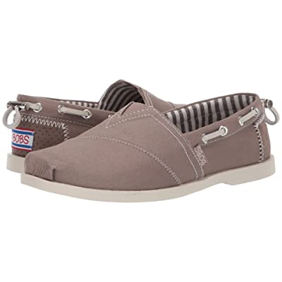 BOBS from SKECHERS Chill Luxe Traveler (Dark Taupe) Women