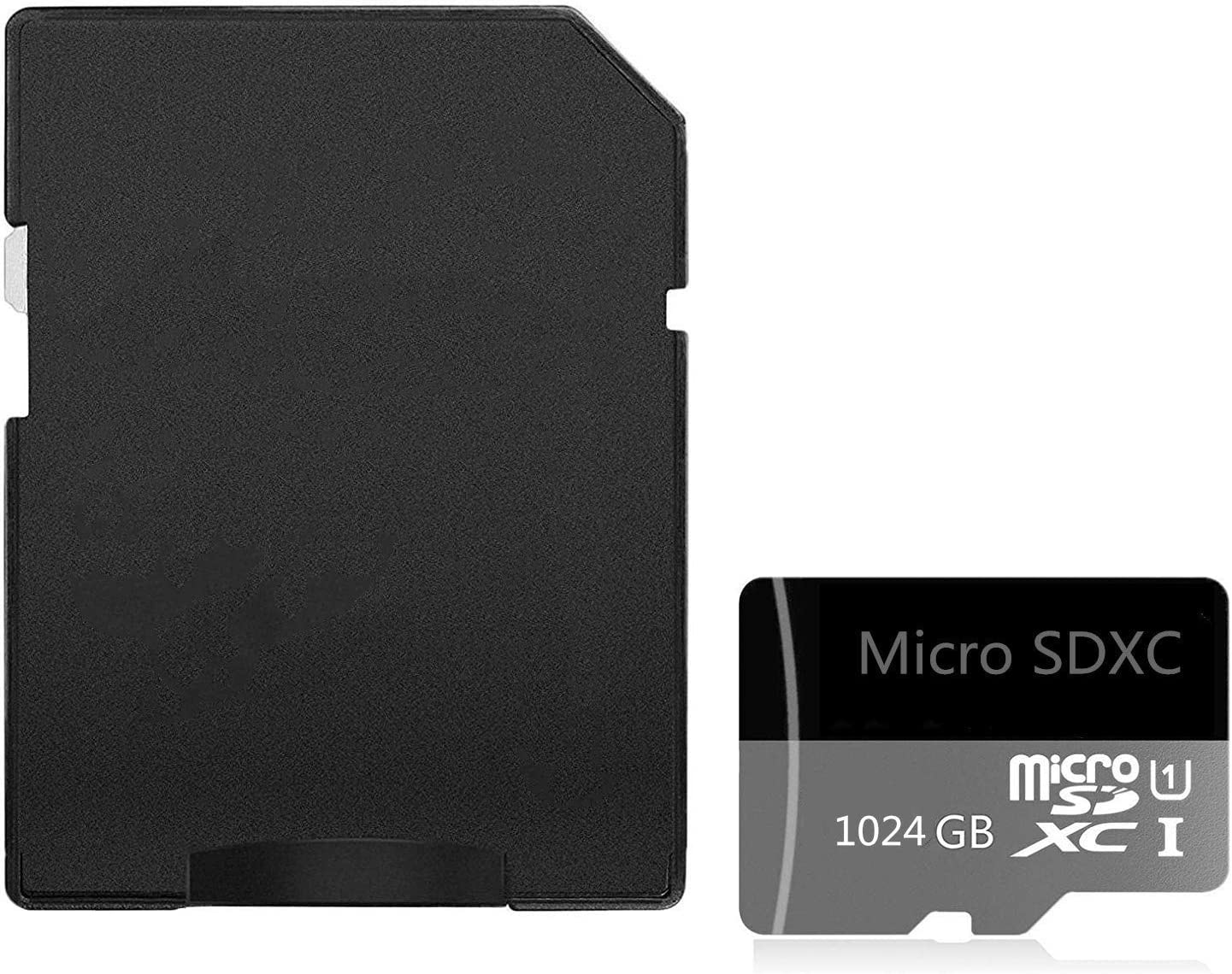 Micro SD Card 1024 GB High Speed Class 10 Micro SD SDXC Card with Adapter