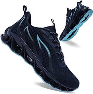Mens Jogging Shoes Fashion Sports Shoes Non-Slip Walking Shoes
