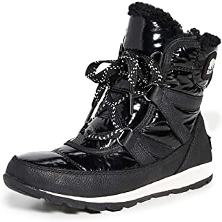 SOREL Women's Whitney Short Lace Patent Boots