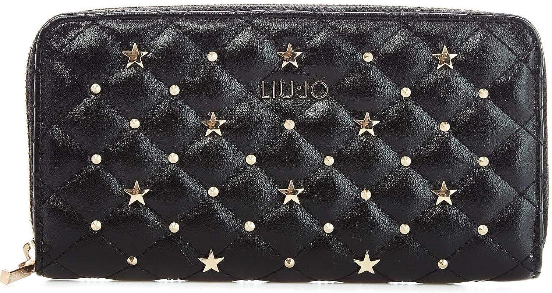 Liu Jo Women's A19174E000222222 Black Faux Leather Wallet