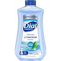 Dial Complete Antibacterial Foaming Hand Soap Refill Spring Water 32 Fl Oz