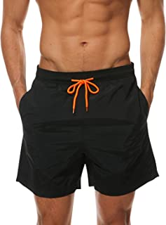 Men's Beach Shorts Quick Dry Waterproof Sports Shorts Bathing Suit Swim Trunks