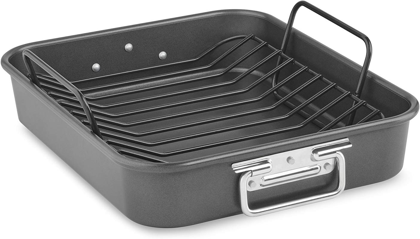 KitchenAid KitchenAid KBNSO16RP 16 Aluminized Steel Roaster With Rack Nonstick