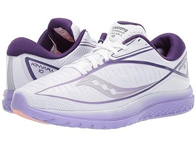 Saucony Kinvara 10 (White/Purple) Women