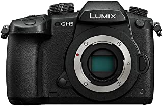 Panasonic Lumix DC-GH5 Cuerpo MILC 20.3MP Live Mos 5184 x 3888Pixeles Negro - Cámara Digital (203 MP 5184 x 3888 Pixeles Live Mos Full HD Pantalla táctil Negro) - [Versión importada]
