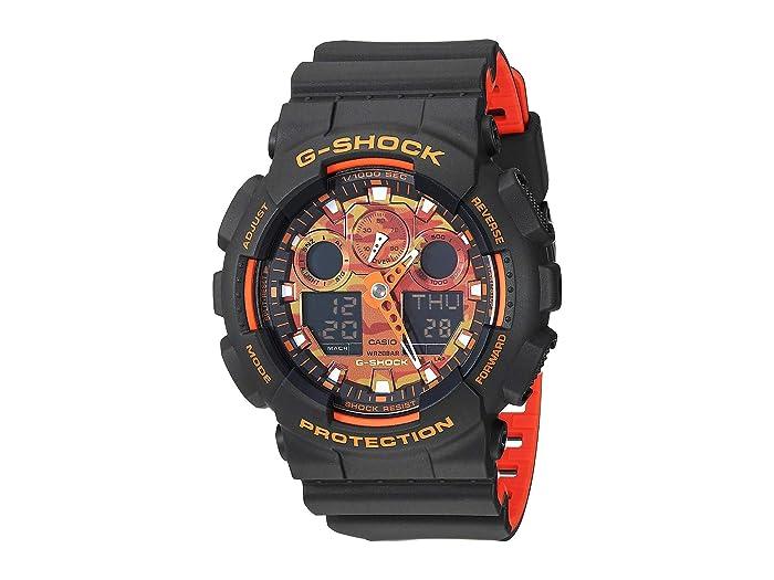 G-Shock  GA-100BR-1ACR (Black) Watches