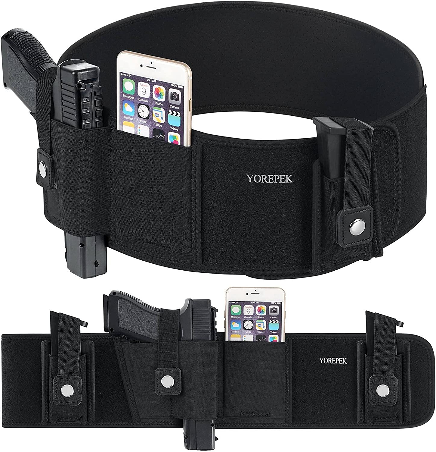 Belly Band Holster for Concealed Wome Men Carry Popular standard Gun Industry No. 1