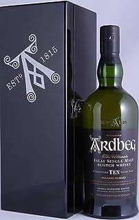 Ardbeg Ten Black Mystery II Islay Single Malt Scotch Whisky 46,0% Vol. - seltene Ardbeg Black Mystery Limited Edition exklusiv für Frankreich!