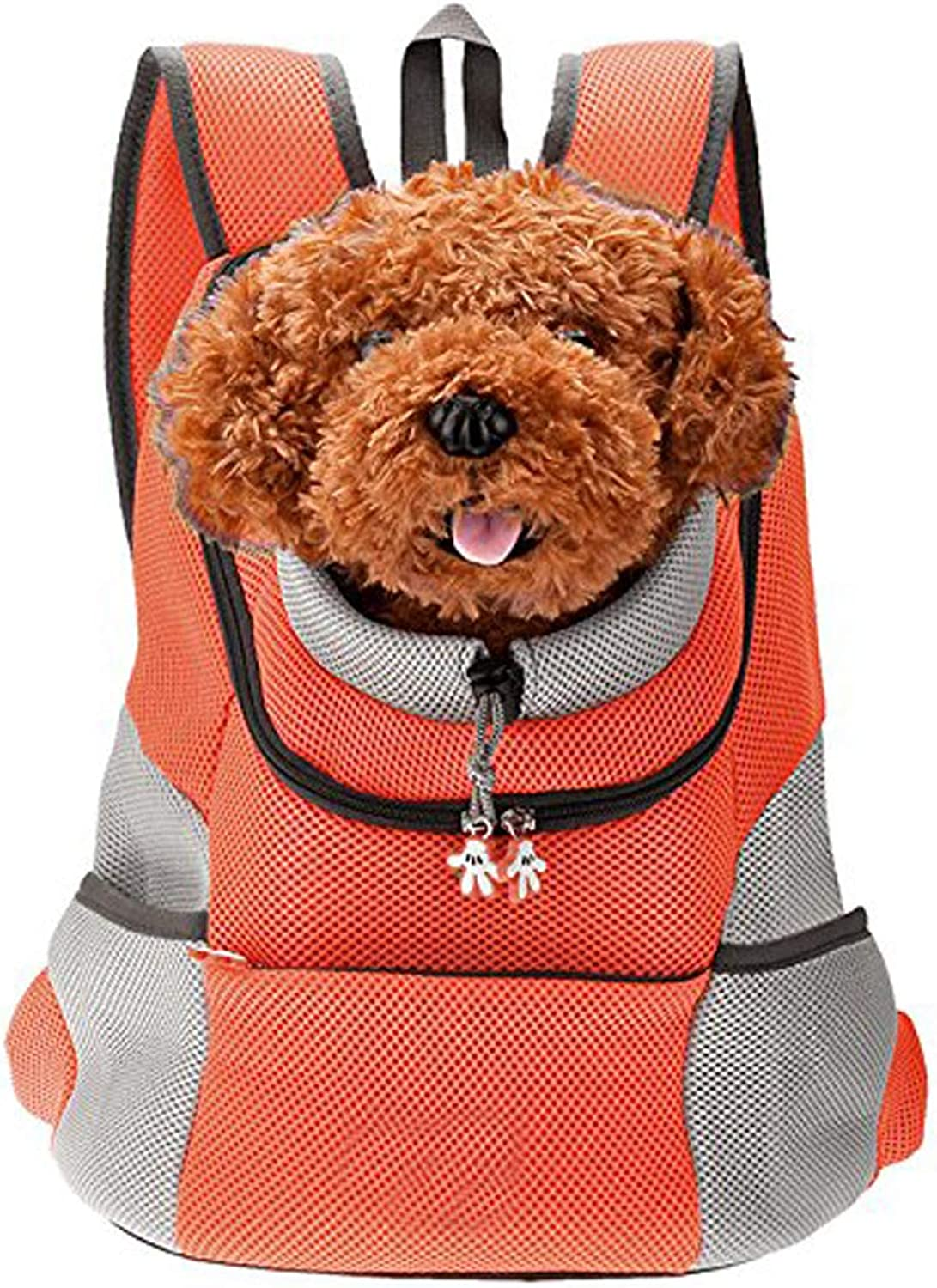 Globalwells Latest Style Comfortable Dog Cat Pet Carrier Backpack Travel Carrier Bag Front for Small Dogs Carrier Bike Hiking Outdoor
