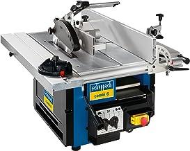Scheppach - Máquina para trabajar madera (sierra circular, cepilladora y fresadora)