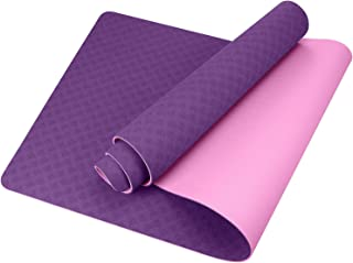 comprar comparacion GISALA Esterilla Yoga, Esterilla Deporte Antideslizante Ecológica y 100% Natural de 183x61cm, 6mm de Grosor, No tóxico, pa...