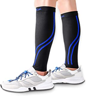 VIPEX Calf Compression Sleeve - Leg Compression Socks Men Women Shin Support for Shin Splint,  Calf Pain Relief,  Circulation Recovery
