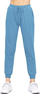 ClothingAve. Women's French Terry Hoodie and Jogger Pants Sweatsuit Set Collection