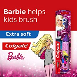 Colgate Kids Barbie Battery Powered Toothbrush - 1 Pc