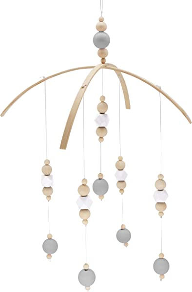 Nordic Nursery Wooden Peal Baby Girl Mobiles Decor Hanging Hanger Art Mobiles Baby Chandelier Photography Props Newborn Gift