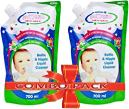Camera 750ml Bottle and Nipple Liquid Cleanser for Fruits, Bottles,sippers, Accessories and Toys (Pack of 2)