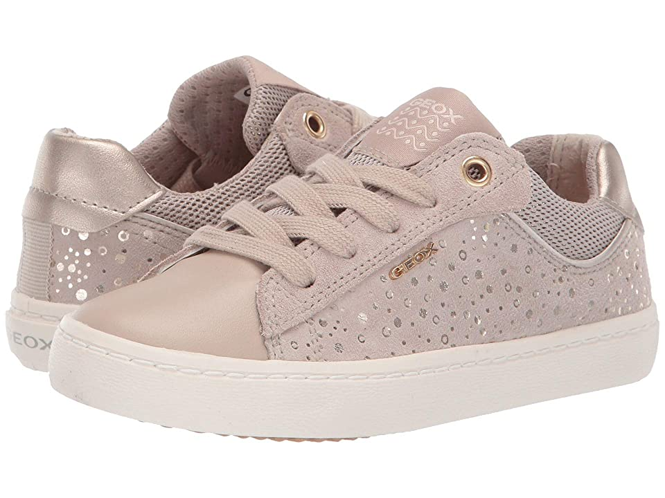 Geox Kids Kilwi Girl 45 (Little Kid) (Beige) Girl