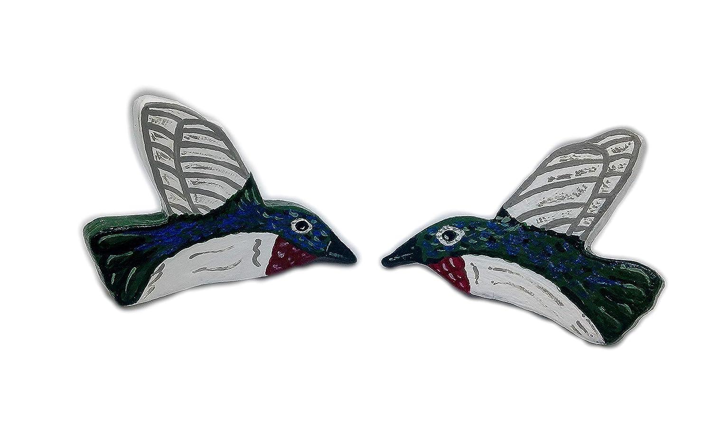 Super sale period limited Wooden Hummingbird Import Hair Barrettes