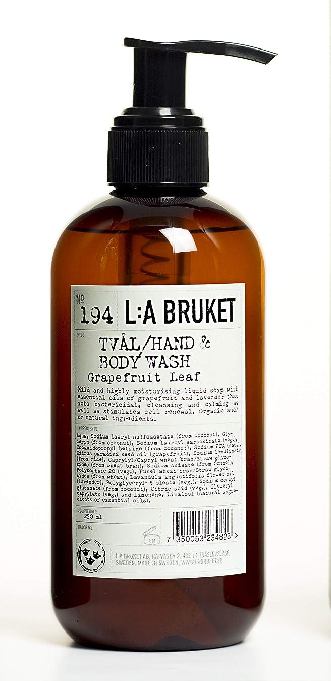化学ミュウミュウ哲学的L:a Bruket (ラ ブルケット) ハンド&ボディウォッシュ (グレープフルーツリーフ) 250g