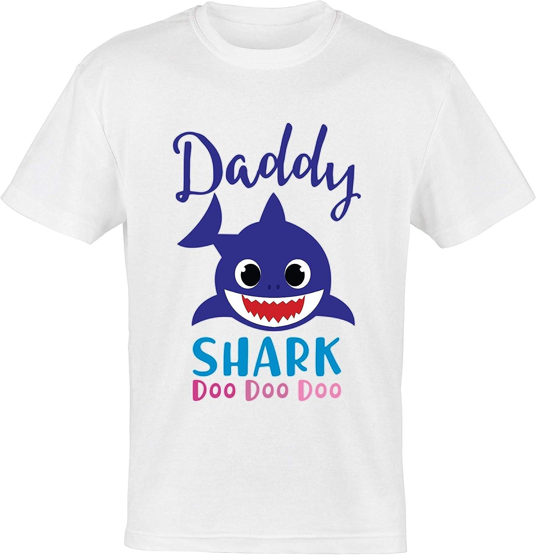 Baby Shark T-Shirt White - Daddy
