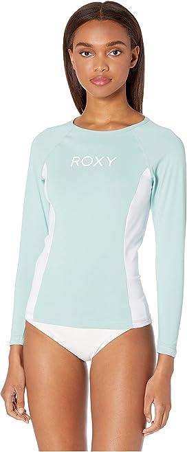 b0a1e5a34e Roxy Long Sleeve Fashion Rashguard at Zappos.com