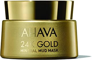 AHAVA 24K Gold Facial Mud Mask, 50 mls