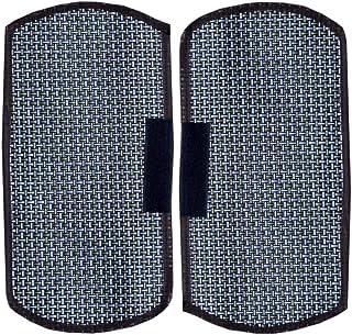 Kuber Industries™ Multi-Purpose Handle Cover for Car/Refrigerator/Oven (1 Pair) in Jute Design
