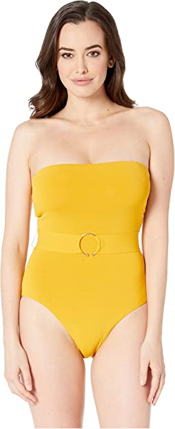 Luca Bandeau with Belt One-Piece