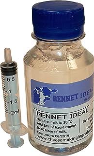 Microbial Liquid RENNET Ideal Coagulant 100ml | add 2ml per 10L of milk